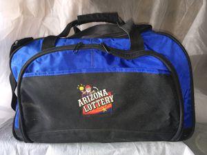 Cool Arizona Lottery duffle bag. Like new! for Sale in Phoenix, AZ