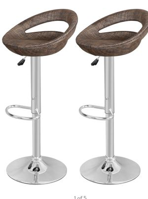 New Pub Swivel Barstools Patio Barstools Adjustable Height for Sale in Whittier, CA