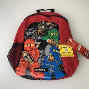 LEGO Ninjago Team Basic Kids Backpack Red for Sale in Renton, WA