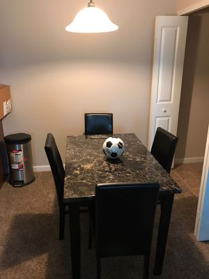 Dining table with 1 chairs for Sale in Columbus, OH