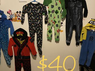 $40 for all-size 4T/5T pajamas/costume dress up time not new-but in descent (not flawless) condition- not willing to separate- my son loved to play dr for Sale in Yakima,  WA