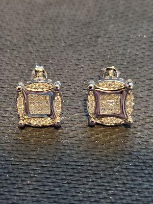 Diamond earrings for Sale in Bonney Lake, WA