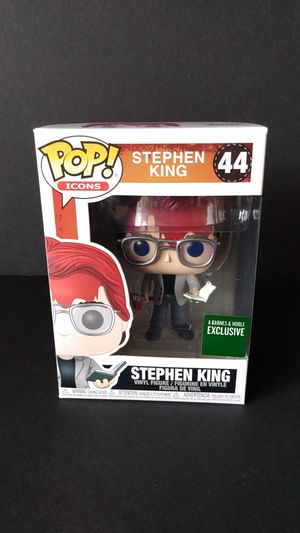 Funko Pop! Barnes & Noble Exclusive Stephen King for Sale in Federal Way, WA