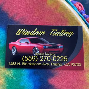 Window Tinting for Sale in Fresno, CA