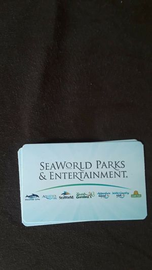 I have 4 tickets for sale for SeaWorld park for Sale in Lakeland, FL