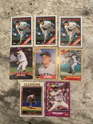 Roger Clemens Baseball Card Lot for Sale in Vienna, VA