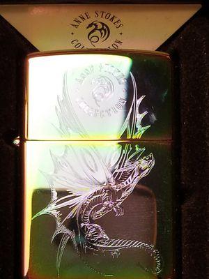 Zippo Anne stokes dragon design on multi color finish 29586 for Sale in Los Angeles, CA