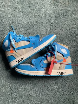 Off white Jordan 1 UNC size 8 for Sale in Pittsburgh, PA