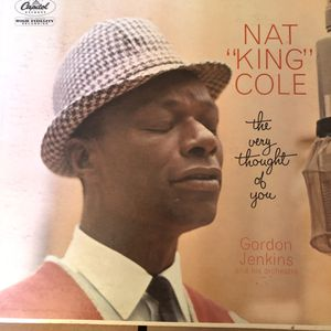 """Nat """"King"""" Cole vintage the very thought of you Vinyl for Sale in Naperville, IL"""