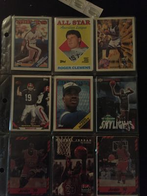 Rare baseball and basketball cards for sale negotiate price with me for Sale in Cleveland, OH