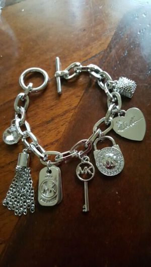 Mk silver charm bracelet for Sale in Severn, MD