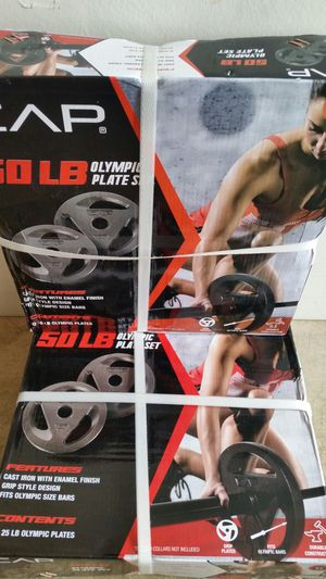 Four brand new 25lb olympic plates. $240 for Sale in Portland, OR