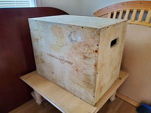 Wood Exercise Jump Box for Sale in Tacoma, WA