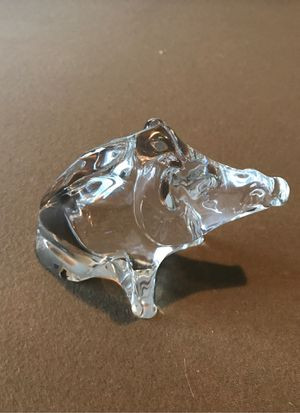 Baccarat Crystal Wild Boar for Sale in Richmond, TX