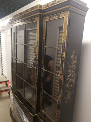 Antique china cabinet for Sale in Weston, MA