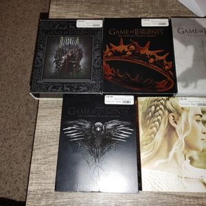 Game Of Thrones Seasons 1-5 for Sale in Colfax, ND