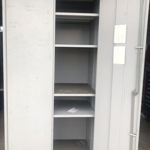 Large Metal Storage Cabinet On Wheels for Sale in Ontario, CA