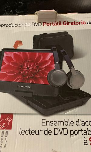 "9"" Swivel Portable DVD player kit for Sale in Garden Grove, CA"
