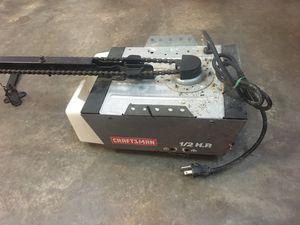 Craftsman 1/2 HP Garage Door Opener - GOOD CONDITION! for Sale in Chesapeake, VA