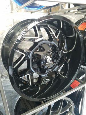 Mayhem 20x9 wheels Ford chevy rims for Sale in Phoenix, AZ