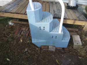 Fiberglass pool steps for Sale in Hazlehurst, GA