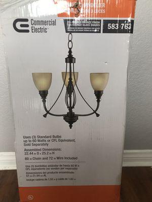 Chandelier-3 lights for Sale in North Las Vegas, NV