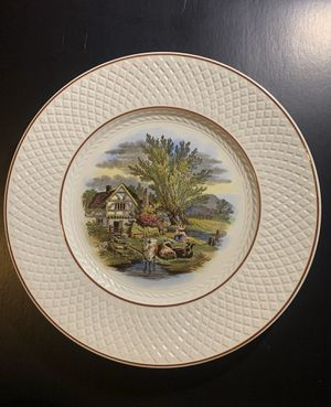 Spode mansard plate from 1925 for Sale in Arlington Heights, IL