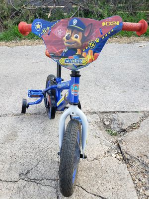 "12"" Nickelodeon Paw Patrol Chase Bicycle, Blue for Sale in Dallas, TX"