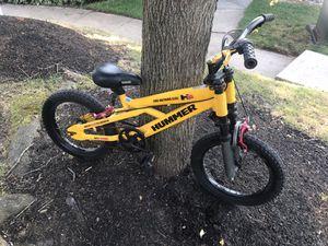 "Official GM Hummer H16 Special Edition 16"" Kids BMX Bike with Front Shocks RARE for Sale in Sicklerville, NJ"