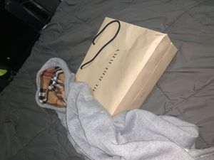 Burberry Men's Hoodie Medium for Sale in Temple Hills, MD