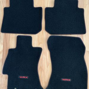 Genuine OEM Subaru WRX Floor Mats, w/ red stitching for Sale in Mooresville, NC