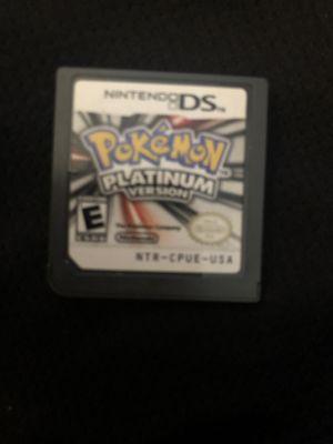 Pokémon platinum for Nintendo DS for Sale in San Diego, CA