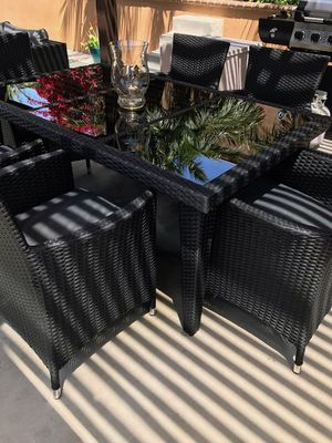 Wicker Patio Set Brand New (Can Deliver) for Sale in San Diego, CA