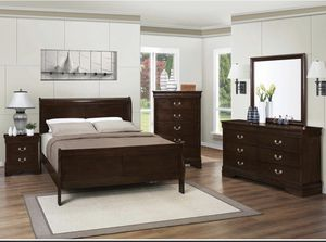 Modern Queen Bedroom Set (ONLY $54 DOWN) for Sale in DeSoto, TX
