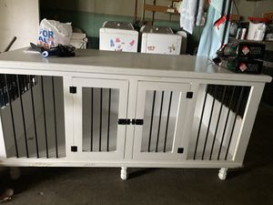 Entertainment center/dog kennel for Sale in Nederland, TX
