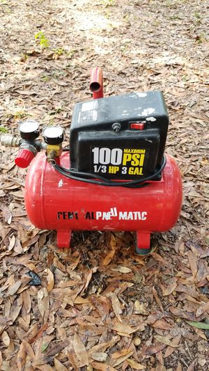 3gal 100psi compressor for Sale in Spring Hill, FL