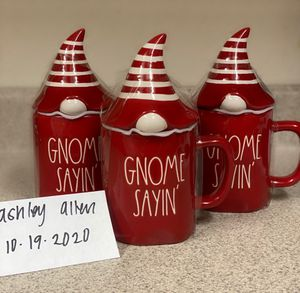 "HTF 2020 Rae Dunn ""Gnome Sayin"" mug. Pricing is set for each. for Sale in Pittsburg, CA"