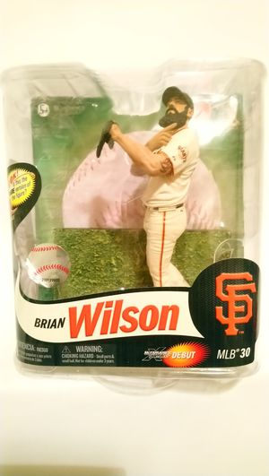 McFarlane Toys Series 30 MLB Brian Wilson Action Figure 2012 for Sale in Washington, DC
