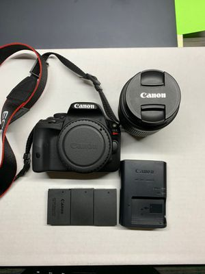 Canon EOS Rebel SL1 with 18-55mm IS STM lens, $225 for Sale in Newport Beach, CA