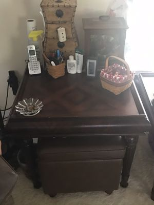 Cherry wood end tables for Sale in Melbourne, FL