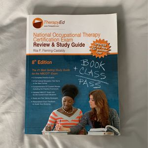 NBCOT review and study guide 8th edition for Sale in Schaumburg, IL