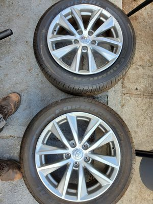 """Infiniti Q50 17"""" Wheels + Tires for Sale in Queens, NY"""