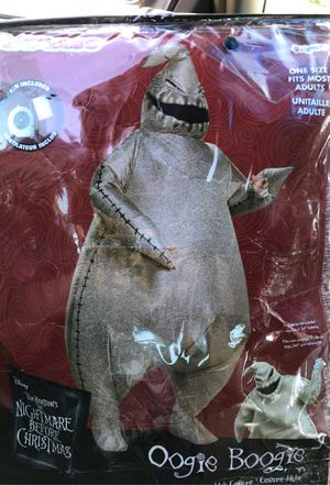 "THE NIGHTMARE BEFORE CHRISTMAS INFLATABLE ""OOGIE BOOGIE"" MAN HALLOWEEN COSTUME for Sale in Gresham, OR"