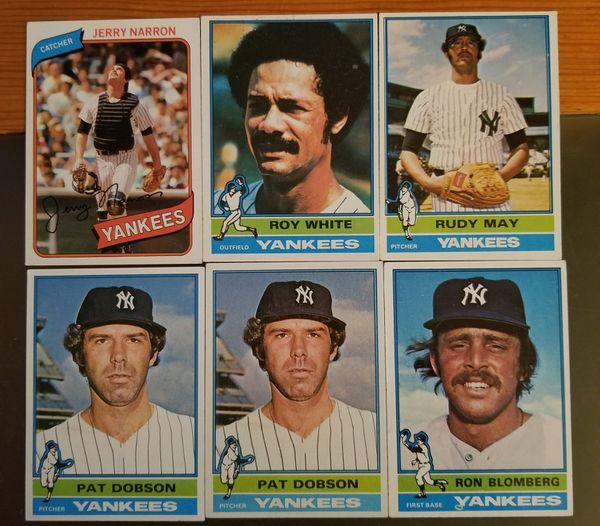 Yankees Baseball Cards Topps