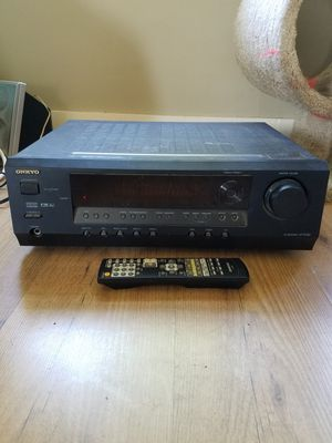 ONKYO Receiver with Remote for Sale in Sanford, ME