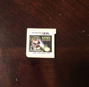 Nintendo 3DS Luigi's Mansion Dark Moon for Sale in Avondale, AZ
