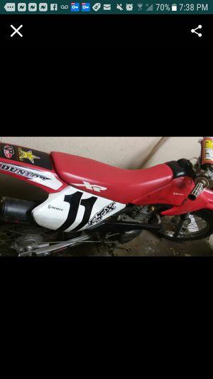 2001 Honda 4 stroke 80cc dirt bike 5 speed manual $1500 obo for Sale in San Lorenzo, CA