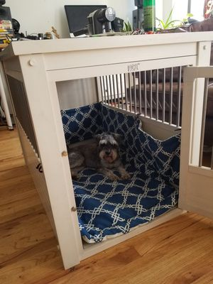 New Age Pet ecoFLEX Crate Dog House Antique White x-large xl for Sale in New York, NY