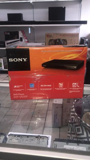 Sony DVD Video Player DVP-SR21P0P for Sale in Miami, FL