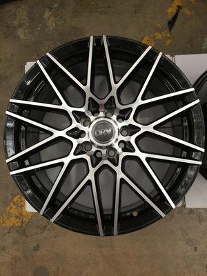 "Brand New 18"" Inch Diablo D17 Black Machined 18X8 Wheels Rims Rines 5X112 5X4.41 5X114.3 5X4.5 for Sale in Austin, TX"